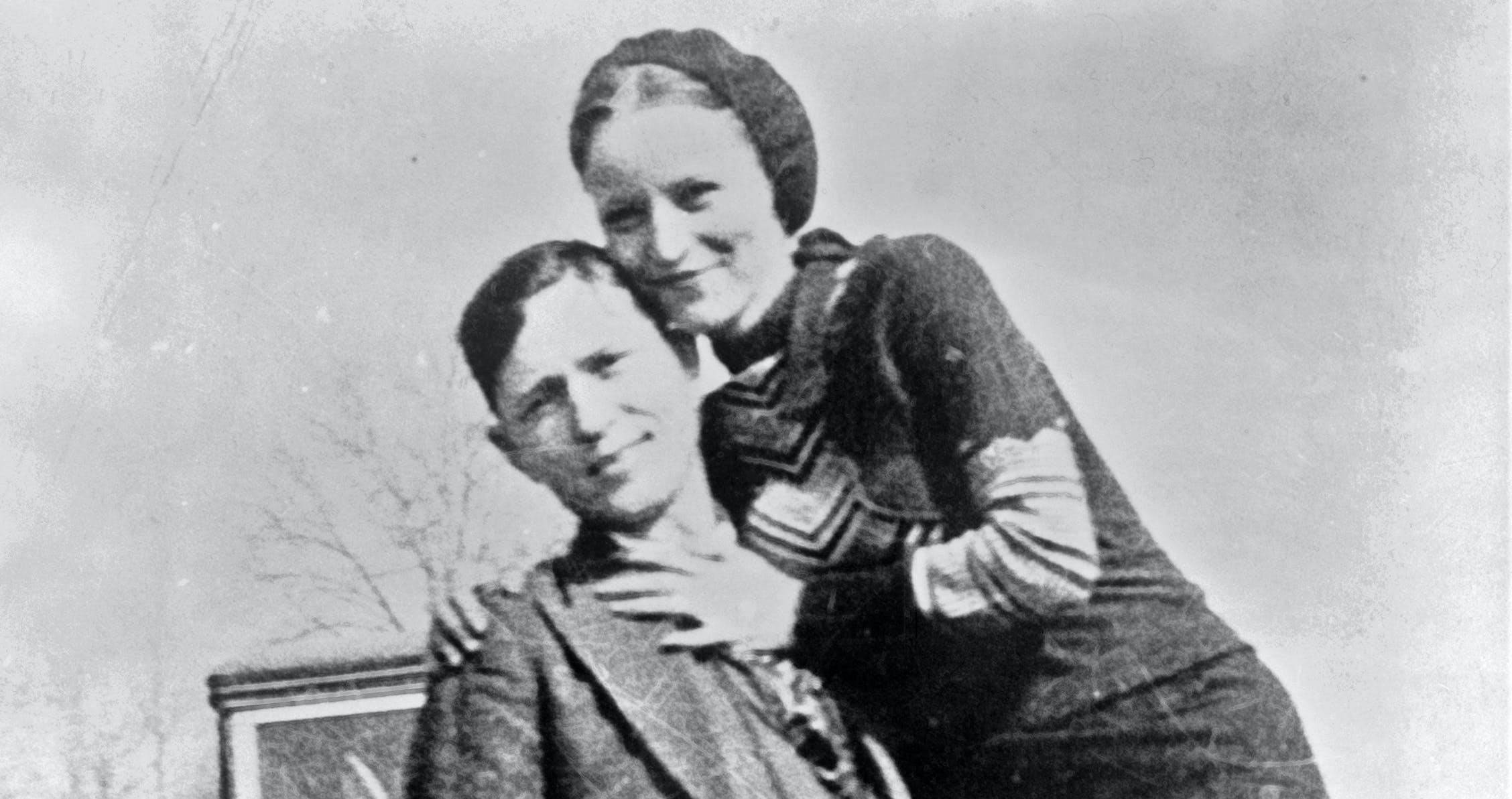 Bonnie Parker & Clyde Barrow : Les amants maudits