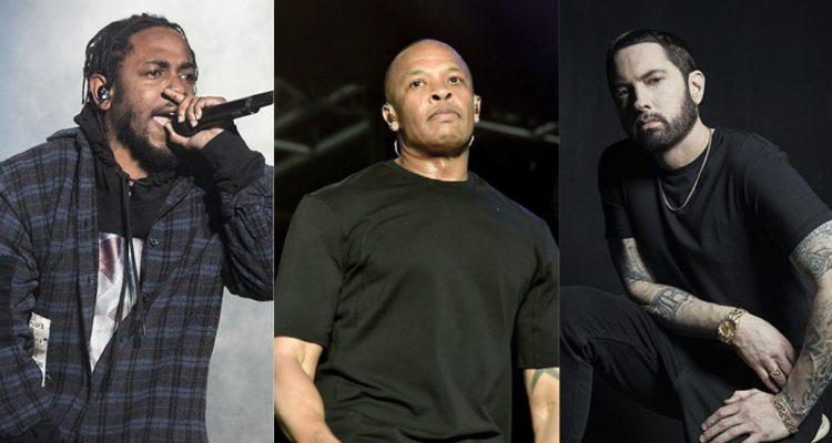 Une collaboration Eminem X Dr Dre X Kendrick Lamar ?